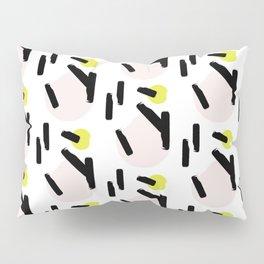 Beige circles Pillow Sham