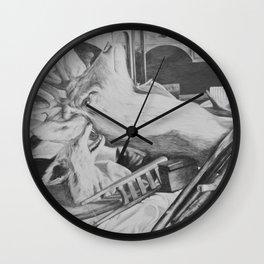 taxidermy Wall Clock