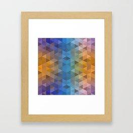 pattern conti Framed Art Print