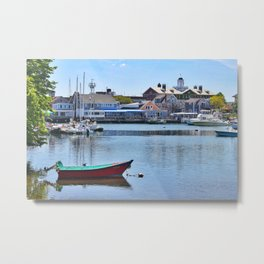 Eel Pond, Woods Hole Falmouth on Cape Cod in Massachusetts Metal Print