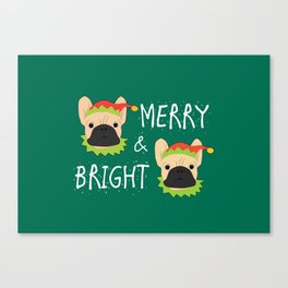 Merry And Bright! Canvas Print