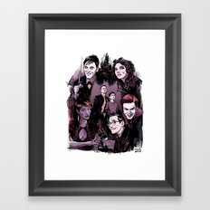 GOTHAM 1 Framed Art Print