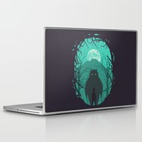 scary Laptop & iPad Skins featuring Scary Monsters and Nice Sprites by filiskun