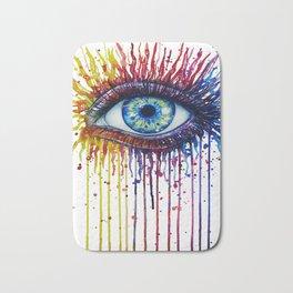 Colorful Eye Bath Mat