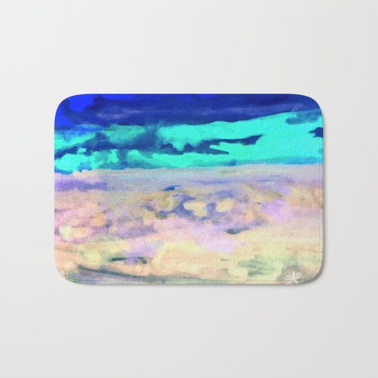 Icey Night Bath Mat