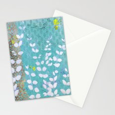 Ferns And Blue Skies Stationery Cards