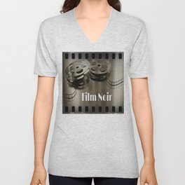 Film Noir Unisex V-Neck