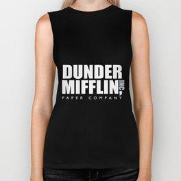 dunder mif-flin paper company boyfriend Biker Tank