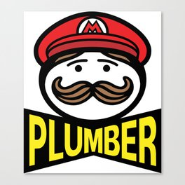 Plumber Potato Chips Canvas Print