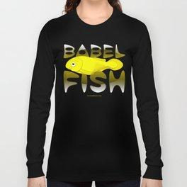 Babel fish Long Sleeve T-shirt