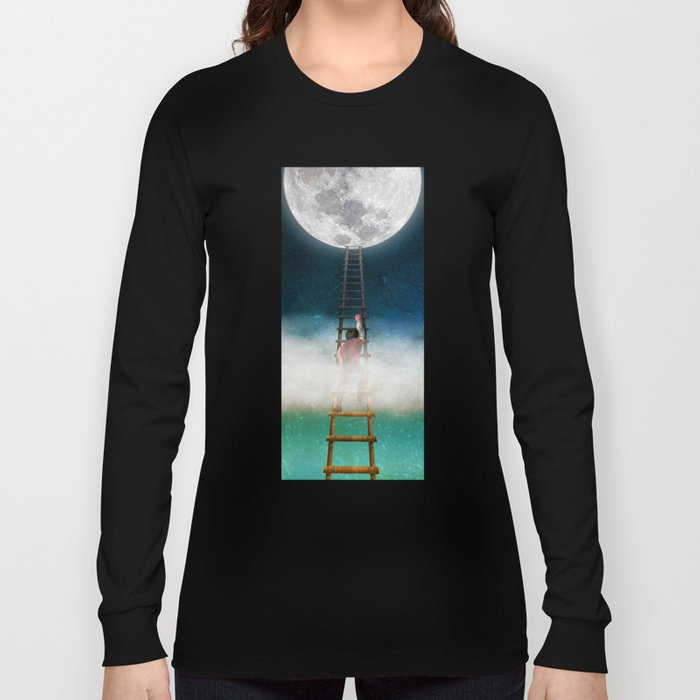 Reach for the Moon Long Sleeve T-shirt