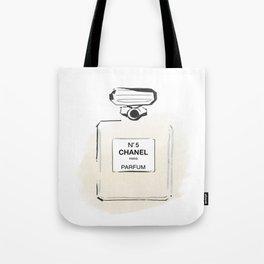 Beige Perfume 3 Tote Bag