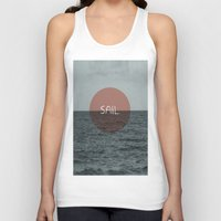 sail Tank Tops featuring Sail by Carla Talabá