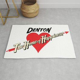 Denton - Home of Happiness Rug