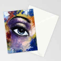Title: Very Beautiful Eye painting Stationery Cards