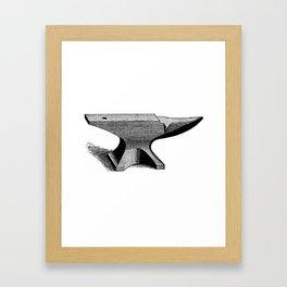 Anvil Framed Art Print