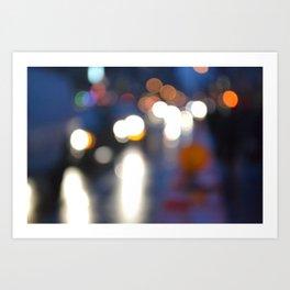 Blurredon6th Art Print