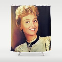 Celeste Holm, Actress Shower Curtain