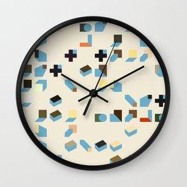 Abstract Geometric Artwork 75 Wall Clock