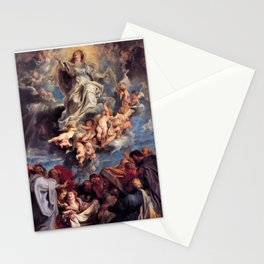 Pieter-Paul Rubens; Assumption of the Devine and Holy Virgin Mary Stationery Cards