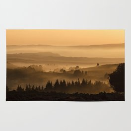 Foggy Forest Rug