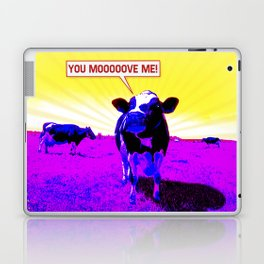 Psychedelic Cows Laptop & iPad Skin