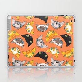 """Oro?"" Cats-Salmon Color Laptop & iPad Skin"