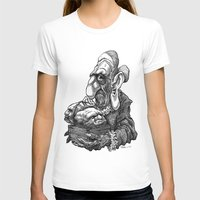 bread T-shirts featuring Bread Heads by PRESTOONS / Art by Dennis Preston