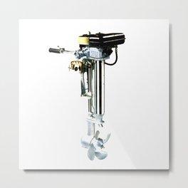 SEAGULL ENGINE Metal Print