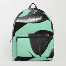 Ficus Elastica Beach Vibes #2 #foliage #decor #art #society6 Backpack