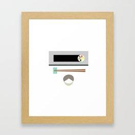 kimbap Framed Art Print