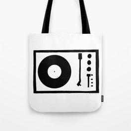 'Record Player' Tote Bag