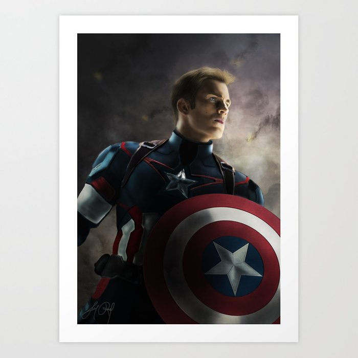 CaptainAmerica Art Print