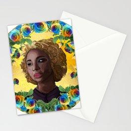 Delia the Necromancer Stationery Cards