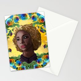 Delia the Necromancer Stationery Cards