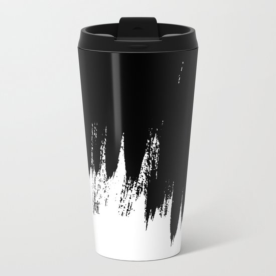 HIGH CONTRAST Metal Travel Mug