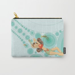 Swimming Alone Carry-All Pouch