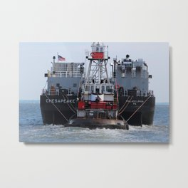 The Tug  Metal Print