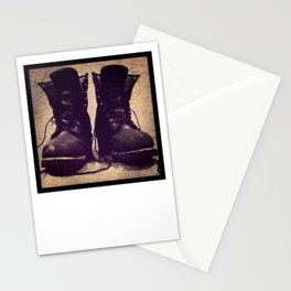 Circuit Party Boots Stationery Cards
