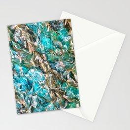 Aqua Mineral Stationery Cards