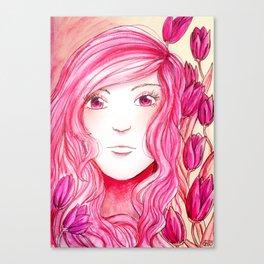 Colour Theme - Pink Canvas Print