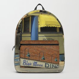 Gardner -  Massachusetts -  Diner -  Restaurant -  Classic - Vintage illustration. Retro décor. Backpack