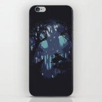 kodama iPhone & iPod Skins featuring kodama Spirit by Robson Borges