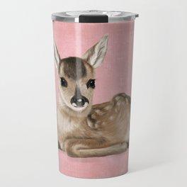 Small fawn Travel Mug