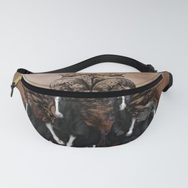 Awesome wild horses Fanny Pack