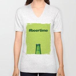 Beer Time Unisex V-Neck