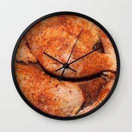BBQ Chicken Wall Clock