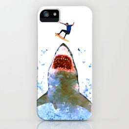 Shark Attack iPhone Case