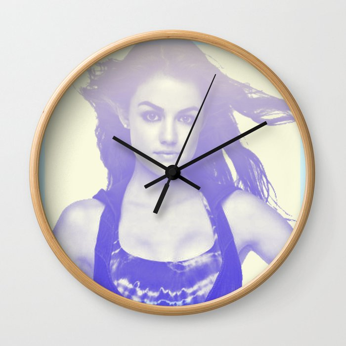 Lucy Hale Wall Clock