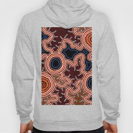 Aboriginal Art Authentic - Pathways Hoody